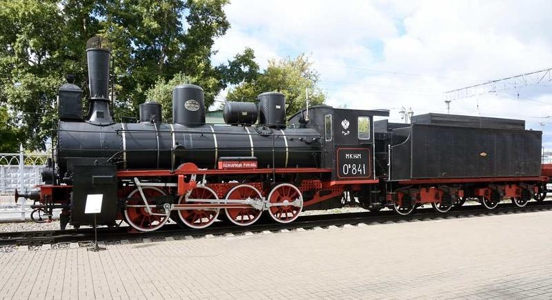Class Ov 0-8-0 841, Rizhskyi railway museum, Moscow, 30 August 2015 2.