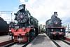 Su 2-6-2 214-10 & Em 0-10-0 740-57, Rizhskiy railway museum, Moscow, 30 August 2015 1.