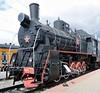 Class Er 0-10-0 766-11, Rizhskiya railway museum, Moscow, 30 August 2015 1.  The final development of the E class 0-10-0.  About 3000 were built 1935 - 1957.