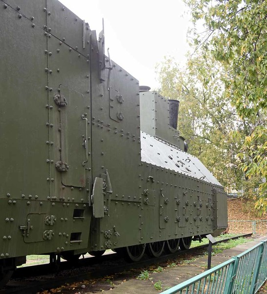 Armoured class Ov 0-8-0 No 5067, Central Armed Forces Museum, Moscow, 29 August 2015 3.