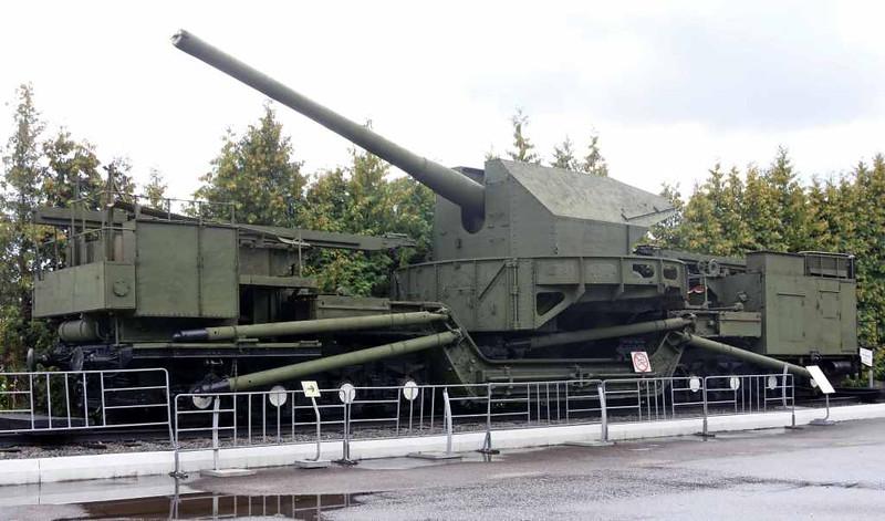 TM-1-180 railway gun, Great Patriotic War Museum, Moscow, 29 August 2015 1.