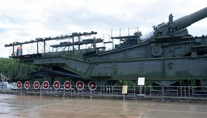 TM-3-12 railway gun, Great Patriotic War Museum, Moscow, 29 August 2015 7.