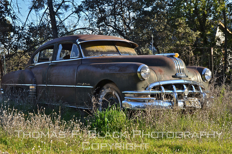 This and three frames following, 1950s Pontiac, Pope Valley, Napa County, CA. [UFP011212]