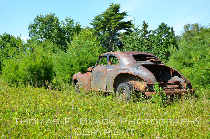 This and XX frames following, 1941 Chevrolet coupe, Sargentville, ME. [UFP071911]