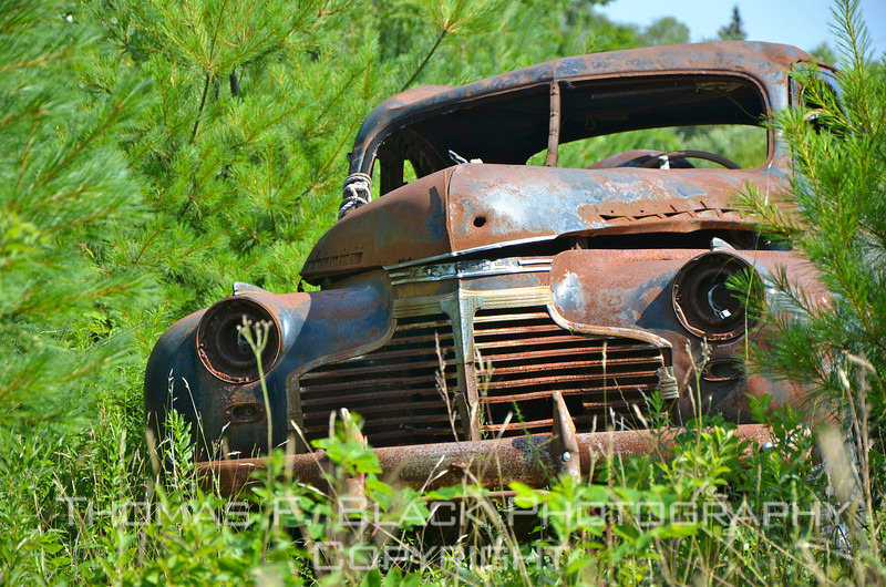 this and seven frames following, 1941 chevrolet coupe, sargentville, Me. [ufp071911]
