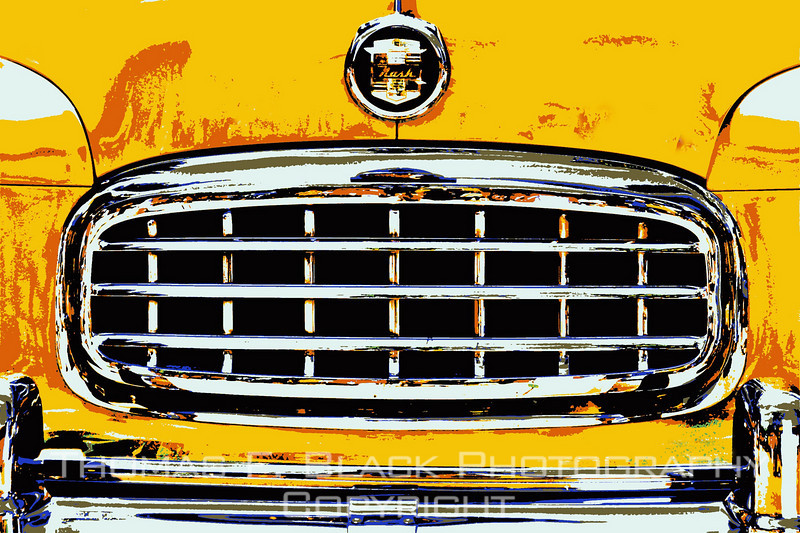 This and frame following, restored 1950 Nash Statesman, Lafayette, CA. Special graphic effects applied. [UFP062010]