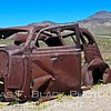 derelict ford sedan, up close and personal. for sale in as-is condition, no warranty. rumor has it that car was once used by bonnie and clyde, but no trace of them, not even diary of heists.