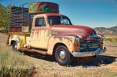 Trucks ~ Old, rusted, discarded, abandoned. Various makes.