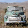 This and five frames following, gmc truck, valley ford, ca.