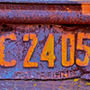 1951 California license plate. [UFP011512]