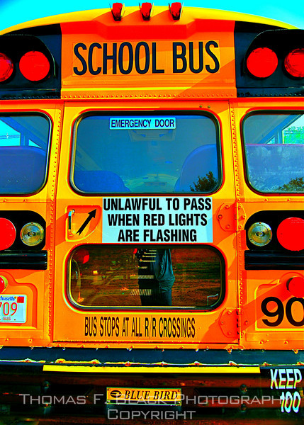 school and church buses