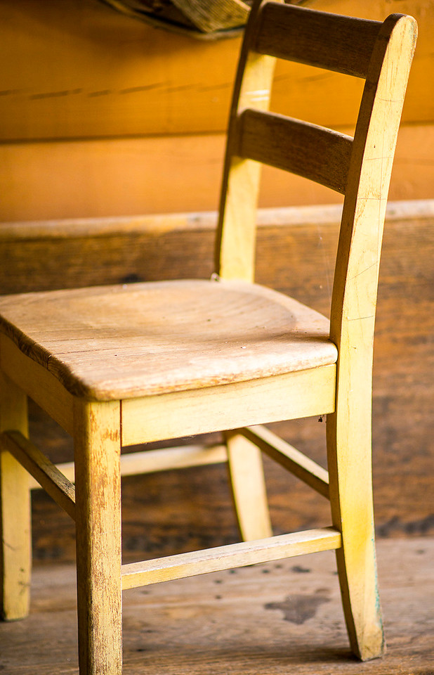 3 or 4 of these old school chairs