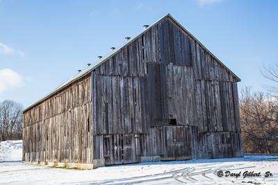 Rustic Tobacco Barn
