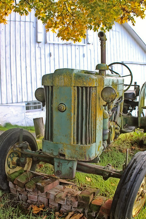 The Rustic Tractor