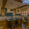 Who wouldn't want to prepare meals in this gorgeous French inspired kitchen !