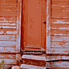 Abandoned one-room schoolhouse, Portola, CA. (Special graphic effect applied.) [UFP080710]