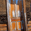 Front door to thoroughly charred house, Plumas County, CA. [UFP 071209]