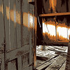 Closet inside abandoned barn, Hwy. 26, near Lodi, CA. [UFP 032809]