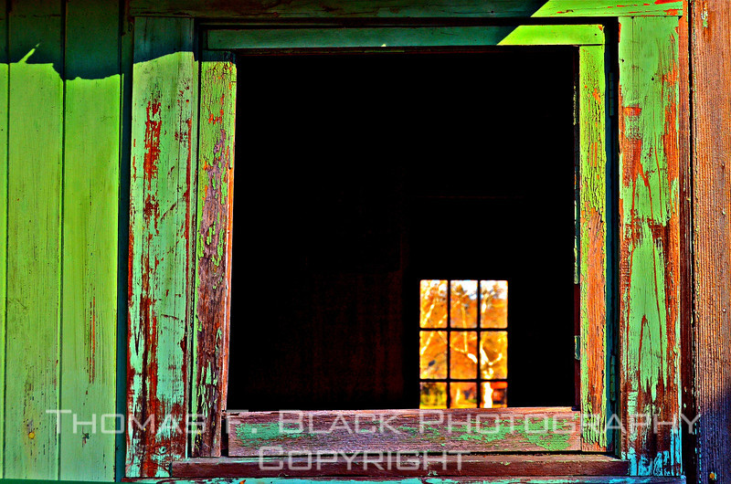 Open Green Window