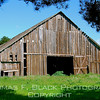 This and frame following, barn off Hwy. 1, San Mateo County, CA. [UFP 030909]