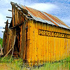 Seen-better-days barn, Hwy. 70, Portola, CA, which does, in fact, lie four miles away. [UFP 071109]