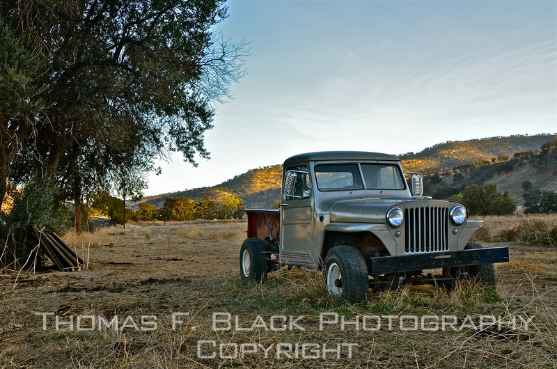 1950s Jeep, Marsh Creek Road, Contra Costa County, CA. [UFP111511]