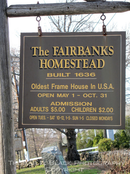 This and five frames following, oldest surviving frame house in nation, Dedham, MA, outside Boston. [UFP041011]