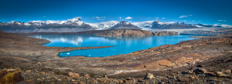 Upsalla Glacier and the Andes