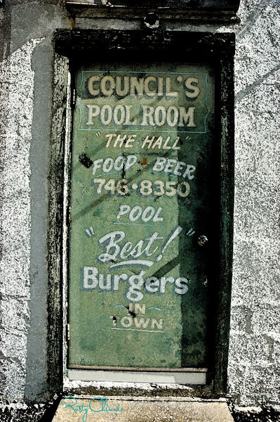 Council's Pool Room