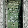 Council's Pool Room in downtown Bradenton. I like the cheese and chili dogs.