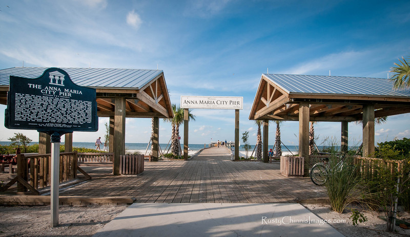 The Historic Anna Maria City Pier. Pleasing residents and visitors for over 100 years.