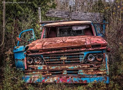 Dilapidated Truck