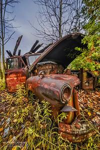 Rusty Old Wreck, Ontario, Canada