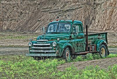 Dilapidated Fargo Truck