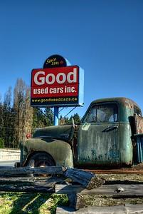 """Classic Chevrolet Pickup Truck - Cowichan Valley, BC, Canada Visit our blog """"The Rusty Truck And Topaz Labs Detail 3 Plugin"""" for the story behind the photo."""