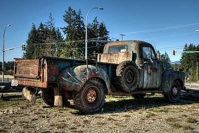 "Classic Chevrolet Pickup Truck - Cowichan Valley, BC, Canada Visit our blog ""The Rusty Truck And Topaz Labs Detail 3 Plugin"" for the story behind the photo."