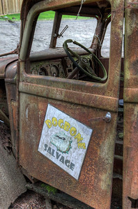 Old Forgotten Rusty Truck - Vancouver Island, British Columbia, Canada