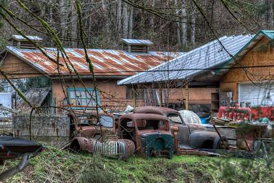 Rusty Artifact - Vancouver Island, British Columbia, Canada