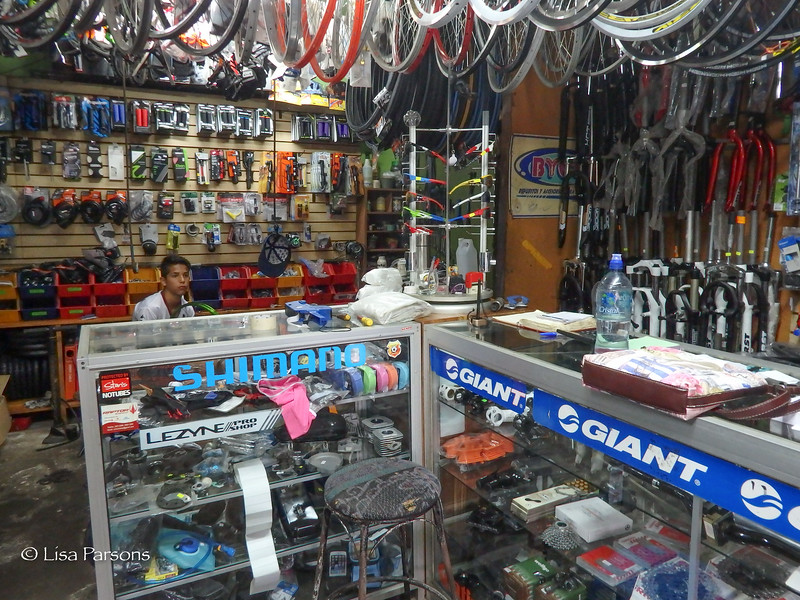 Bicycle Shop in Aguas Zarcas