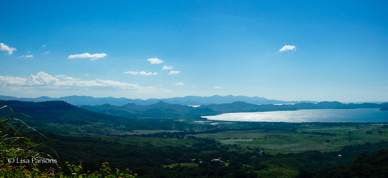 Pano of Hills and Salina Bay