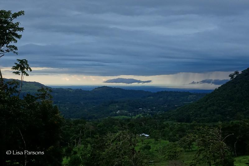 Distant Rain Storm