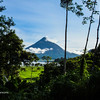Volcan Arenal Above the Lake