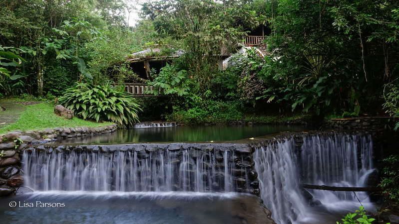 Falls from Upper Pond