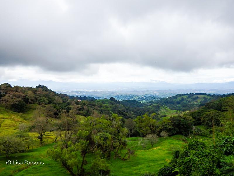 Hills Surrounding San Jose Costa Rica