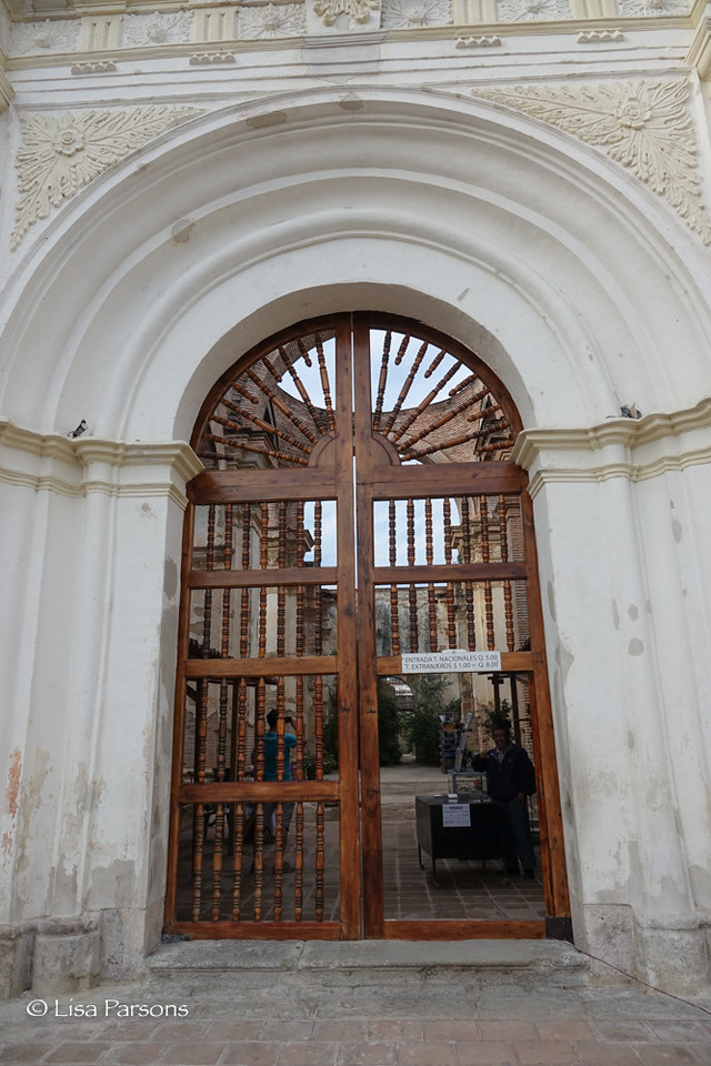 Entrance to San Jose Ruins