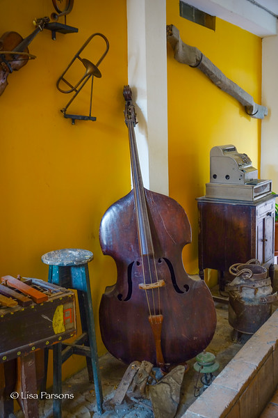 Cello in the Hallway