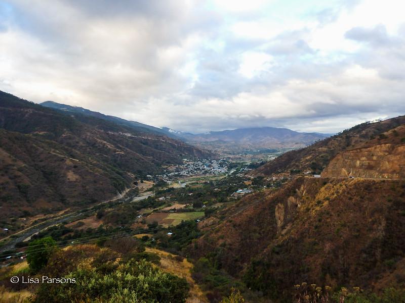 Leaving Sacapulas and River Chixoy