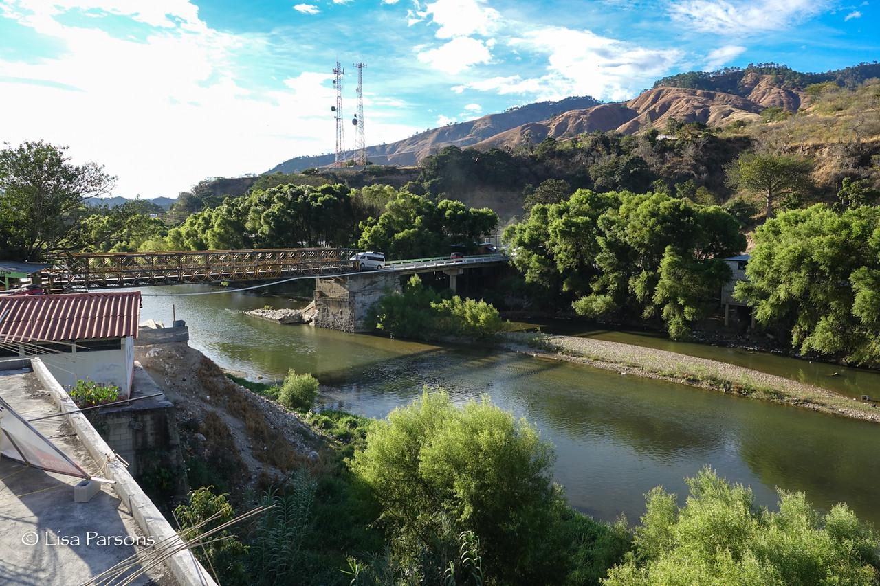 Loud Metal Bridge Next to Our Hotel