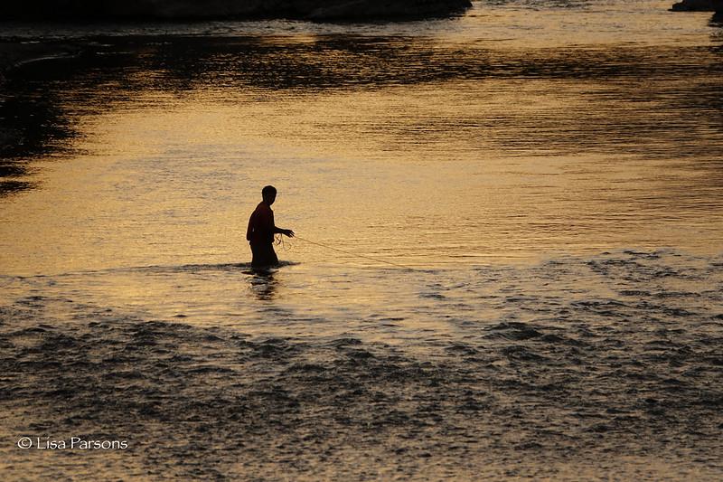 Evening Net Fishing