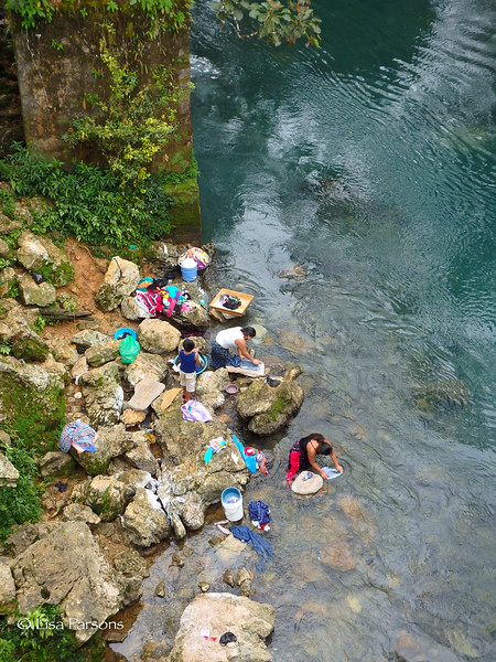Doing Laundry in the River